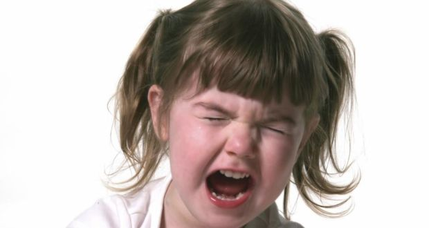 Whining time again: plan your responses to manage your child's angry behaviours. Photograph: Thinkstock