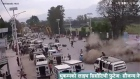 CCTV footage shows moment of Nepal earthquake