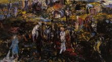Modern Ireland in 100 Artworks: 1940 – Tinkers' Encampment: Blood of Abel, by Jack B Yeats