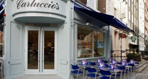 Carluccio's benefits from its dual aspect corner spot, with the morning sun hitting the outdoor seats on Duke Street