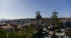 Lisbon: Park bar, on the roof of a car park. Photograph: Patricia De Melo Moreira
