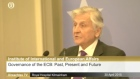 Jean-Claude Trichet appears before the Banking Inquiry