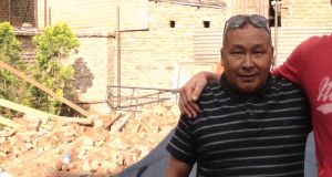 "Dawa Chhiri Sherpa: ""Our houses are gone and my 16-year-old son is not sleeping well, but I have no information at all about my family back at home"""