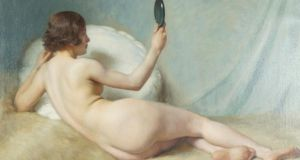 Paul Sieffert's study of a nude, sold by Sheppard's this week