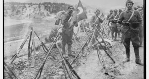 Lost cause: Turkish infantry during the first World War. Photograph: Bain/Library of Congress