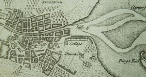 Past and present: Dublin Bay in the Pratt map of 1708