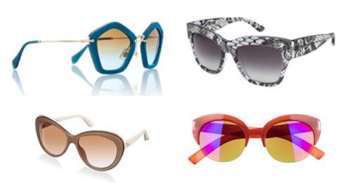e6cbfe1d909e8 Pentagon frame acetate sunglasses €240 Miu Miu at net-a-porter.com