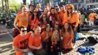 Up to a million people - locals, tourists and Dutch from the wider Netherlands - come into Amsterdam to celebrate Kingsday.