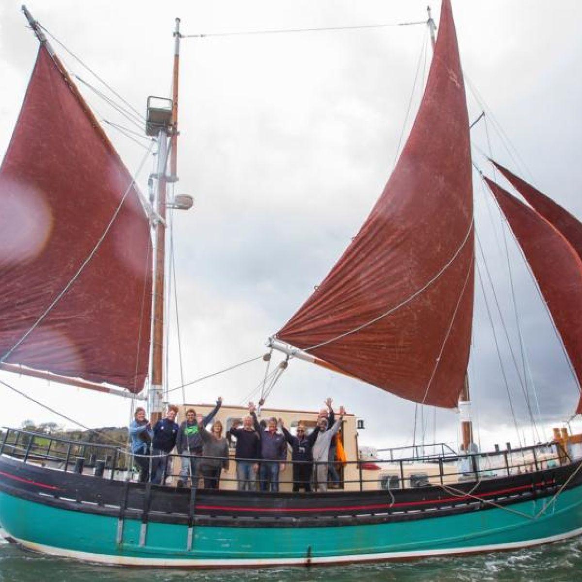 Brian Boru sailing experience to sail under tourist winds