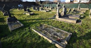 Plot 216 in St Mary's cemetery, Kensal Rise: Patrick O'Donnell's long-neglected resting place