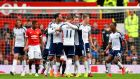 Chris Brunt's deflected free-kick gave West Brom a 1-0 win over Manchester United at Old Trafford. Photograph: Getty
