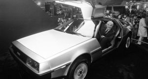 John De Lorean in 1981. The entrepreneur died in 2005 at the age of  80. Photograph: PA