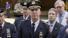 NYPD mourn slain police officer