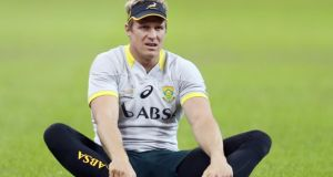 Jean de Villiers looks set to make his return from injury in time for the Rugby World Cup. Photo: Steve Haag/Getty Images