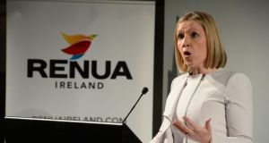 Lucinda Creighton's Renua Ireland has hired the well-known political journalist and author John Drennan as one of its key advisers.  Photograph: Cyril Byrne/The Irish Times.