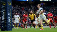 Clermont's Nick Abendanon has been named European Player of the Year. Photograph: Inpho