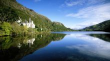 Kylemore Abbey, Connemara, Co  Galway,  is 'a show stopper', according to Eithne O'Halloran, who pitched it to The Irish Times  Best Days Out in Ireland competition. Photograph: Don King, The Image Bank, Getty Images
