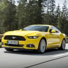 Ford's new Mustang fastback - the raucous noise and taut chassis made it incredible fun to drive on German roads