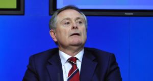 "Minister for Public Expenditure Brendan Howlin has said the Low Pay Commission being discussed at Cabinet on Wednesday will ensure workers take home a ""decent"" wage.  Photograph: Aidan Crawley/The Irish Times."