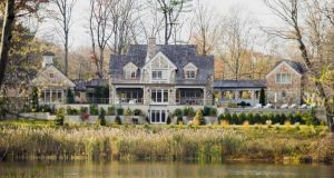 Waterfront home in Rye, New York: This house sits on one of the state's most spectacular waterfront locations in the wealthy Manhattan commuter town.