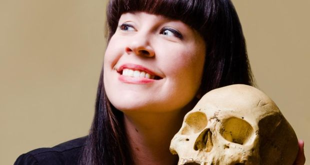 Caitlin Doughty: 'When we die we are lying there like a side of beef. We are not super-special, we are not above animals, or dissolve into magic and light.' Photograph: Ryan Orange