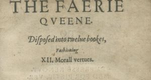 "Edmund Spenser's very rare The Faerie Queene, published in London in 1596, which collector Tony Sweeney    described as ""the most majestic English language allegorical poem to be written in this country"", is   estimated at €3,000-€5,000"