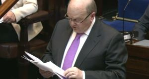 Michael Noonan in the Dáil. File image.