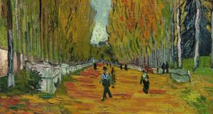 Detail from 'L'Allée des Alyscamps' by van Gogh, which sold for $66.3 million