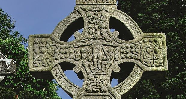 The Cross And The Dragon The Pagan Roots Of Irish Crosses