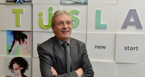 "Gordon Jeyes, chief executive of Tusla (the Child and Family Agency), said the status of the unassessed files, or ""referrals or pieces of information"", was unclear. ""Not knowing is a failure and I regret that.""   Photograph: Alan Betson/The Irish Times"