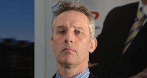 DUP MP Ian Paisley Jr, who has been re-elected in North Antrim. Photograph: Charles McQuillan/Getty Images