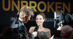 "Angelina Jolie arrives to the world premiere of ""Unbroken""  in Sydney, Australia last November. Photograph: KHAP/GG/GC Images"