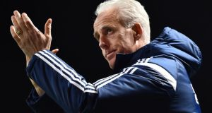 Ipswich Town were bottom of the Championship when Mick McCarthy took over two-and-a-half years ago. Photograph: Ben Stansall/AFP Photo/Getty Images
