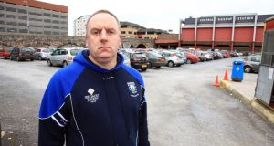 Gerard Davidson, who was shot dead in the markets area of Belfast this morning. Photograph: Pacemaker