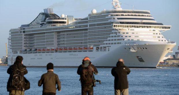 Worlds Th Longest Cruise Ship Arrives In Dublin Port - Cruise ship ireland