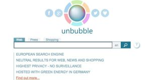 Unbubble doesn't store any user data and encrypts its internet connection as well as the user's origin.