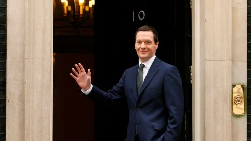 Chancellor of the exchequer and first secretary of state George Osborne. Photograph: Phil Noble/Reuters.
