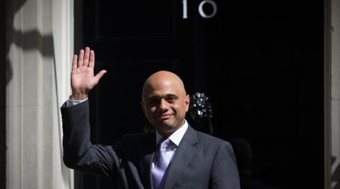 Business secretary Sajid Javid. Photograph: Carl Court/Getty Images.