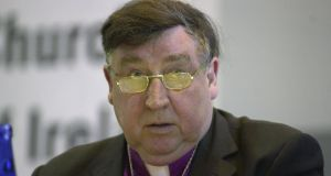 "Walton Empey, archbishop of Dublin from 1996 to 2002, said: ""I certainly have no hesitation in calling for a Yes vote."" Photograph: Peter Thursfield"