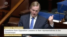 Dáil suspended as Kenny tells TD to 'toddle along'