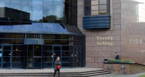 The National Treasury Management Agency  has sold €750 million of seven-year bonds at auction. Photo: Eric Luke/The Irish Times