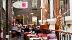 Mezzanine buzz: The Pepper Pot cafe, Powerscourt Centre, Dublin. Photograph: Anna Heikinheimo