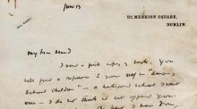 "In the letter, WB Yeats writes to Maud Gonne: ""You will find a reference to your self in 'Among School Children' – a Waterford school I went over – I do not think it will offend you."""
