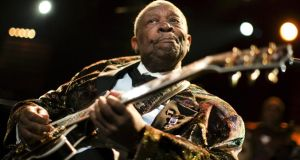 US blues legend BB King performs onstage during the 45th Montreux Jazz Festival in Montreux in 2011. Photograph: Valentin Flauraud/Reuters