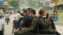 On Patrol: Inside a barrio in San Pedro Sula with the military police