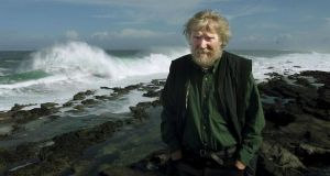 Dermot Healy: his poems give the words we use back to us, with a new dimension to them. Photograph: Alan Betson