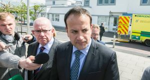 Minister for Health Leo Varadkar said he disagreed with the original plan for the group to be part of the HSE structure. Photograph: Brenda Fitzsimons / The Irish Times