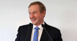 Enda Kenny: the 'Irish Times'/Ipsos MRBI poll asked who people would vote for if an election were held tomorrow: the results were Fine Gael 28%; Labour 7%; Fianna Fáil 20%; Sinn Féin 21%; and Independents/Others 24%. Photograph: INPHO/Billy Stickland