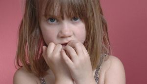 Teaching your child an alternative habit, like using a stress ball, can help with nail biting. Photograph: Thinkstock