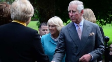 Prince Charles and the Duchess of Cornwall visit Galway